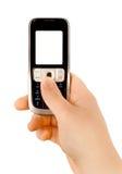Communicatie van de technologie telefoon Stock Fotografie