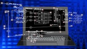 communicatio technologique à grande vitesse et haut d'Internet Image stock