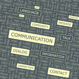 COMMUNICATION illustration libre de droits