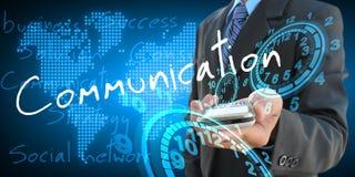 Communication Photographie stock libre de droits
