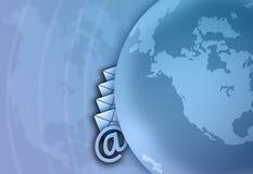 Communication. Background stock illustration