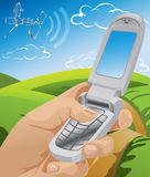Communication vector illustration