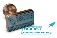 Communication and Advertising Concept Stock Image