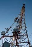 Communication antena Stock Photo