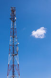 Communication antena tower Royalty Free Stock Photography