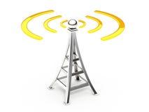 Communication antenna vector illustration