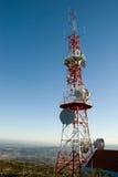 Communication antenna Stock Photos