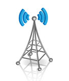 Communication antenna Royalty Free Stock Image