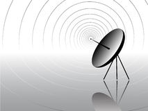 Communication antenna Royalty Free Stock Images