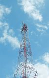 Communication antenna Stock Image