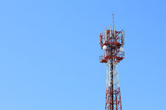 Communication antenna and telecommunication radio  Stock Images