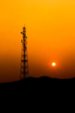 Communication antenna tower. Stock Images