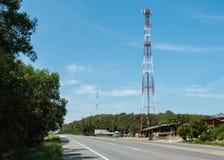 Communication Antenna Royalty Free Stock Photography