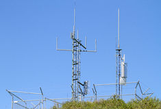 Communication antennae Stock Photography