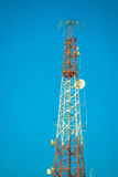 Telecommunication pillar Royalty Free Stock Photo