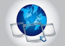 Communication background Stock Photography