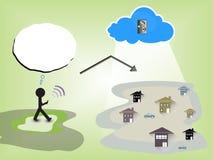 Communication Background. EPS 10 Vector Royalty Free Illustration