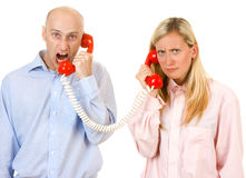 Communication breakdown Stock Photography
