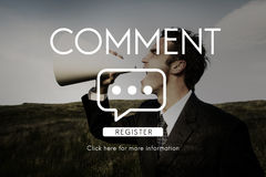 Communication Chat Connection Conversation Concept royalty free stock images