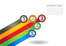 Communication concept. With arrows - template with copy space area Stock Photography