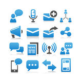 Communication concept icon Royalty Free Stock Image