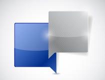 Communication concept illustration design Stock Photos
