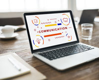 Communication Connection Interaction Information Concept Stock Images