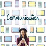 Communication Connection Socialize Media Chat Concept Stock Photos