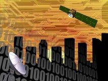 CITYSCAPE HIGH TECH COMMUNICATIONS INDUSTRY TECHNOLOGY Stock Photos