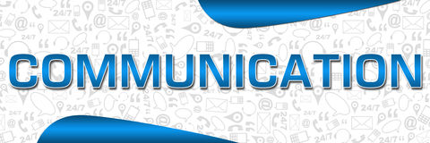 Communication Contact Textured Banner Stock Photography