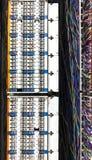Communication control circuit panel Royalty Free Stock Image