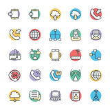 Communication Cool Vector Icons 1 Stock Image