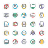 Communication Cool Vector Icons 4 Royalty Free Stock Photos