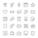 Communication Cool Vector Icons 2 Royalty Free Stock Photography