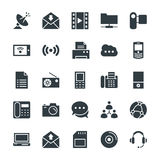 Communication Cool Vector Icons 4 Stock Photography