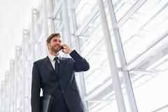 Communication corporate de tranchant images stock
