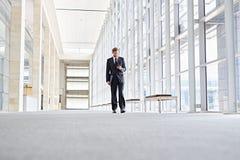 Communication corporate sur l'aller image libre de droits