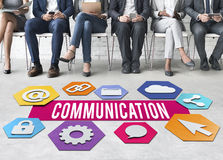 Communication Creative People Layout Graphic Concept Royalty Free Stock Photos