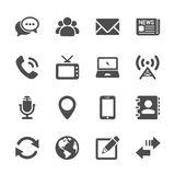 Communication device icon set 2, vector eps10