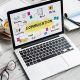 Communication Discussion Team Work Ideas Concept Royalty Free Stock Photo