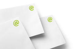 Communication e-mail envelope Royalty Free Stock Photography