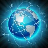 Communication Earth - America. Stock Image