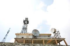 Communication equipments Stock Image
