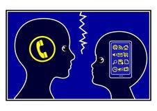 Communication Gap Royalty Free Stock Images