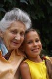 Communication of generations 3 Stock Photos