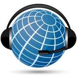 Communication globe Stock Images