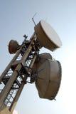 Communication Gsm, Umts e Hsdpa tower stock photos