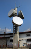 Communication Gsm, Umts e Hsdpa tower Stock Image