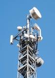 Communication Gsm, Umts e Hsdpa tower Stock Photography