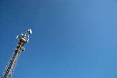 Communication Gsm, Umts e Hsdpa tower Royalty Free Stock Images